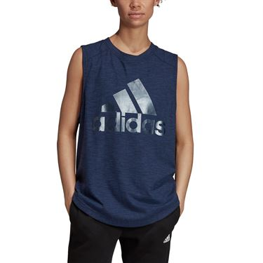 adidas Winners Muscle Tee - Legend Ink