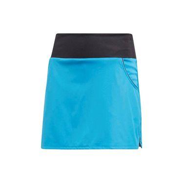 adidas Girls Club Skirt - Shock Cyan
