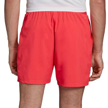 adidas Club 7 Inch Short - Shock Red