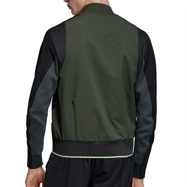 adidas NY City Jacket Mens Legend Earth DX4326