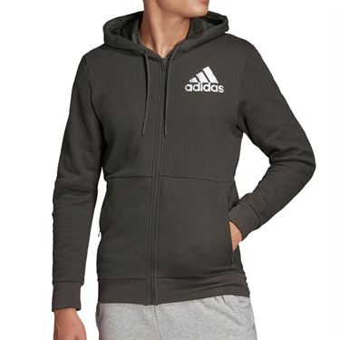 adidas SID Full Zip Hoodie Mens Legend Earth DX7718