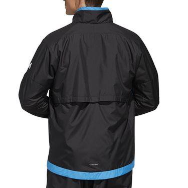 adidas Team Full Zip Jacket Mens Black/Real Blue DY7459