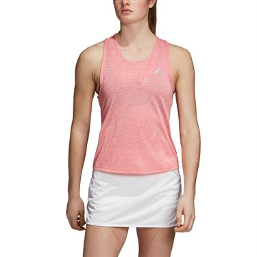 adidas Club Tie Tank - Shock Red