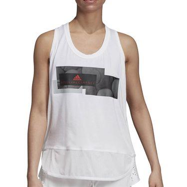 adidas Stella McCartney Graphic Tank - White