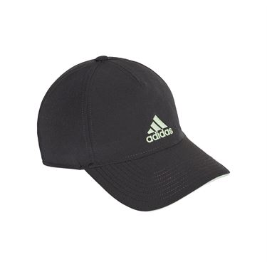 adidas 5 Panel Climalite Hat Carbon/Glow Green