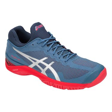 Asics Court FF Mens Tennis Shoe - Azure Blue/Silver