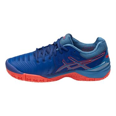 Asics Gel Resolution 7 Mens Tennis Shoe - Blue Print