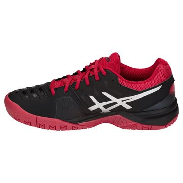 Asics Gel Challenger 11 Mens Tennis Shoe - Black/Silver