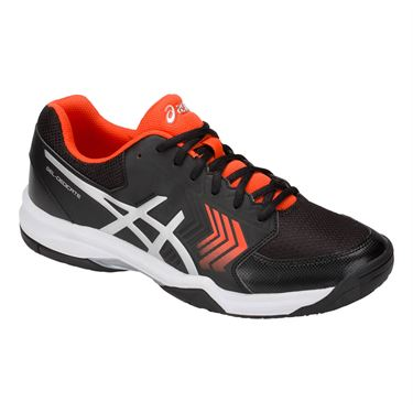 Asics Gel Dedicate 5 Mens Tennis Shoe - Black/Silver