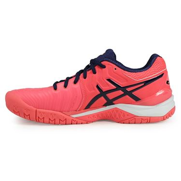 Asics Gel Resolution 7 Womens Tennis Shoe - Diva Pink/Indigo Blue/White