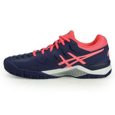Asics Gel Challenger 11 Womens Tennis Shoe - Indigo Blue/Diva Pink/Silver