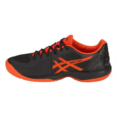 Asics Gel Court Speed Mens Tennis Shoe - Black/Cherry Tomato