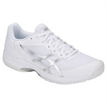 Asics Gel Court Speed Mens Tennis Shoe - White/Silver