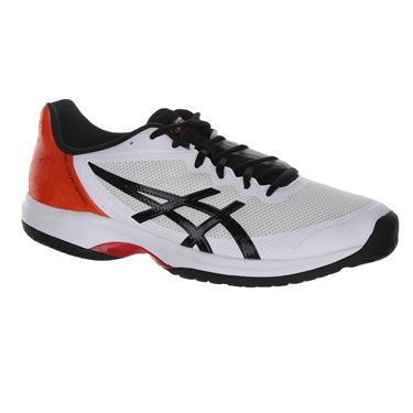 Asics Gel Court Speed Mens Tennis Shoe - White/Black