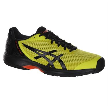 Asics Gel Court Speed Mens Tennis Shoe - Sour Yuzu/Black