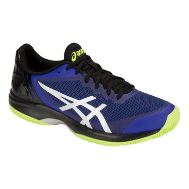 Asics Gel Court Speed Clay Mens Tennis Shoe - Illusion Blue/Silver