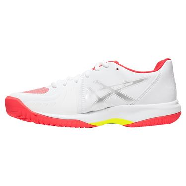 Asics Gel Court Speed Womens Tennis Shoe - White/Laser Pink