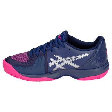 Asics Gel Court Speed Womens Tennis Shoe - Blue Print/Pink Glo