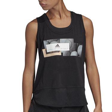 adidas Stella McCartney Graphic Tank - Black