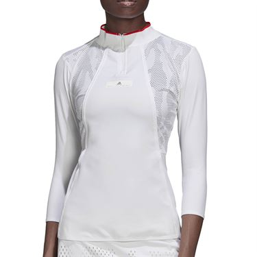 adidas Stella McCartney Long Sleeve Top - White