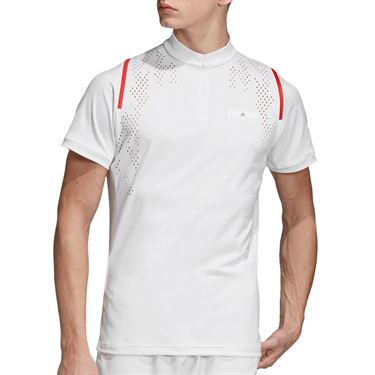adidas Stella McCartney Zipper Shirt - White