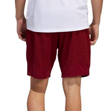 adidas 4K Heather Knit 8 inch Short - Collegiate Burgundy