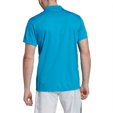 adidas Club Solid Polo - Shock Cyan