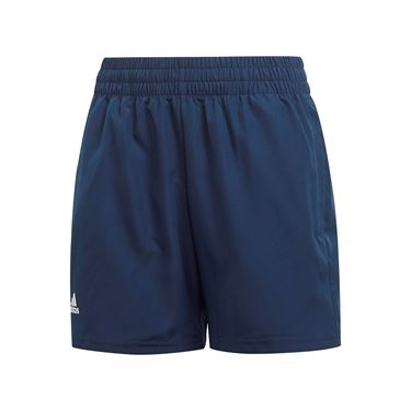 adidas Boys Club Short - Collegiate Navy/White