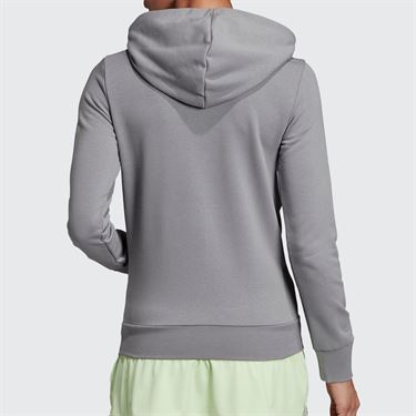 adidas Club Hoodie - Grey Heather