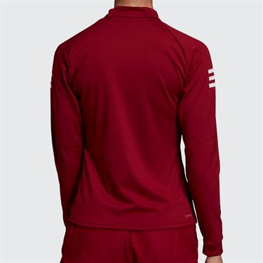 adidas Club Midlayer Top - Collegiate Burgundy