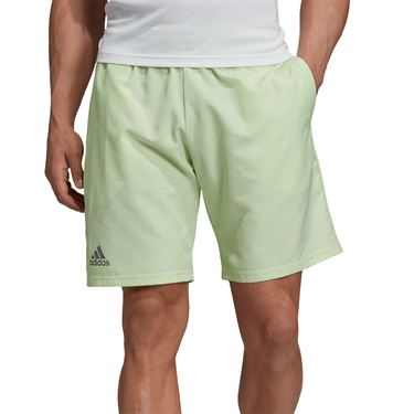 adidas Club Short 9 inch - Glow Green/Grey