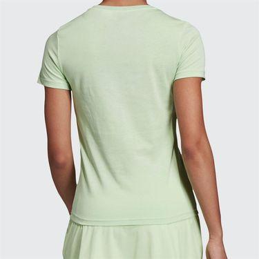 adidas Logo Tee Shirt Glow Green