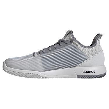 adidas adizero Defiant Bounce 2 Mens Tennis Shoe - Grey One/Grey Three