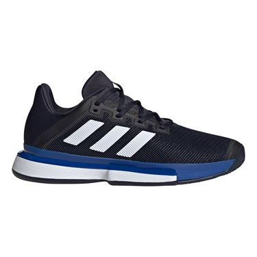 adidas Sole Match Bounce Mens Tennis Shoe Legend Ink/White/Team Royal Blue EF2440