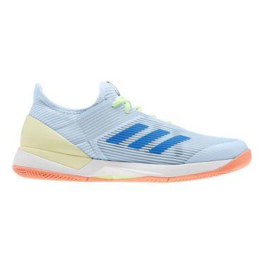 adidas Adizero Ubersonic 3 Womens Tennis Shoe Sky Tint/Glory Blue/Amber Tint EF2462