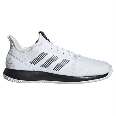 adidas Defiant Bounce 2 Womens Tennis Shoe White/Core Black EF2474