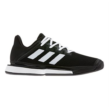 adidas Sole Match Bounce Womens Tennis Shoe Core Black/White EG1137