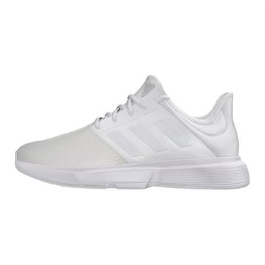 adidas Game Court Womens Tennis Shoe White/Dash Grey EG2016