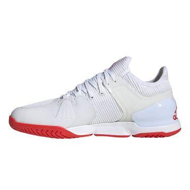 adidas Adizero Ubersonic 2 Mens Tennis Shoe White/Active Red EG2595