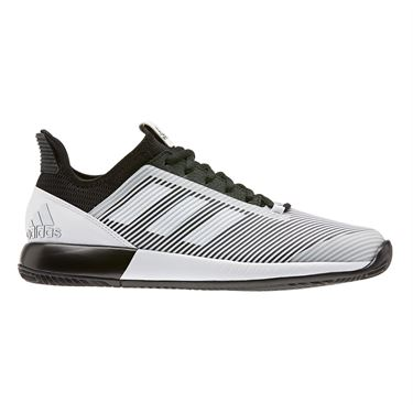adidas Defiant Bounce 2 Womens Tennis Shoe Core Black/White EH0952