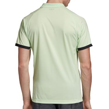 adidas NY Polo Mens Glow Green/Carbon EI8969