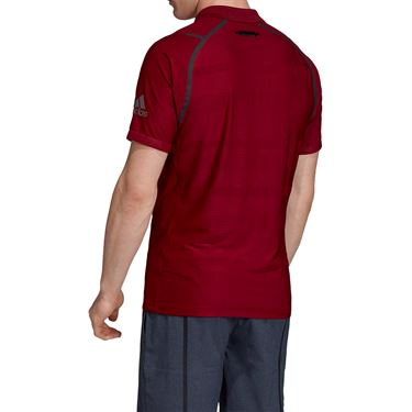 adidas Match Code Polo - Collegiate Burgundy