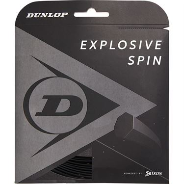 Dunlop Srixon Explosive Spin Black 17g Tennis String