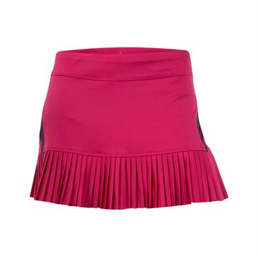 Inphorm Finley Pleated Skirt - Cherry/Haze