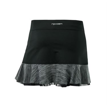 Inphorm 13.5 Inch Skirt - Black/Heather Black
