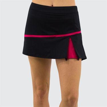 Inphorm Cherry Daphane Skirt Womens Black/Cherry F19018 106