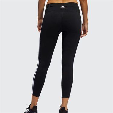 adidas 3 Stripe Legging Womens Black/White FJ7181