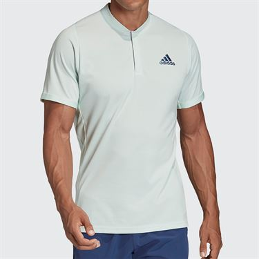 adidas Polo Mens Dash Green/Tech Indigo FK0805