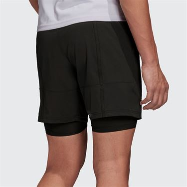adidas 7 inch Short Mens Legend Earth/Grey Two FK0806