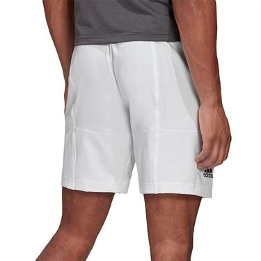 adidas Primeblue Short Mens White/Black FK0814